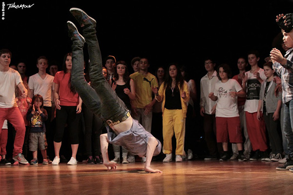 Membre RECKLESS Crew. Cours BBoying (break) niveau 2 (moyen)