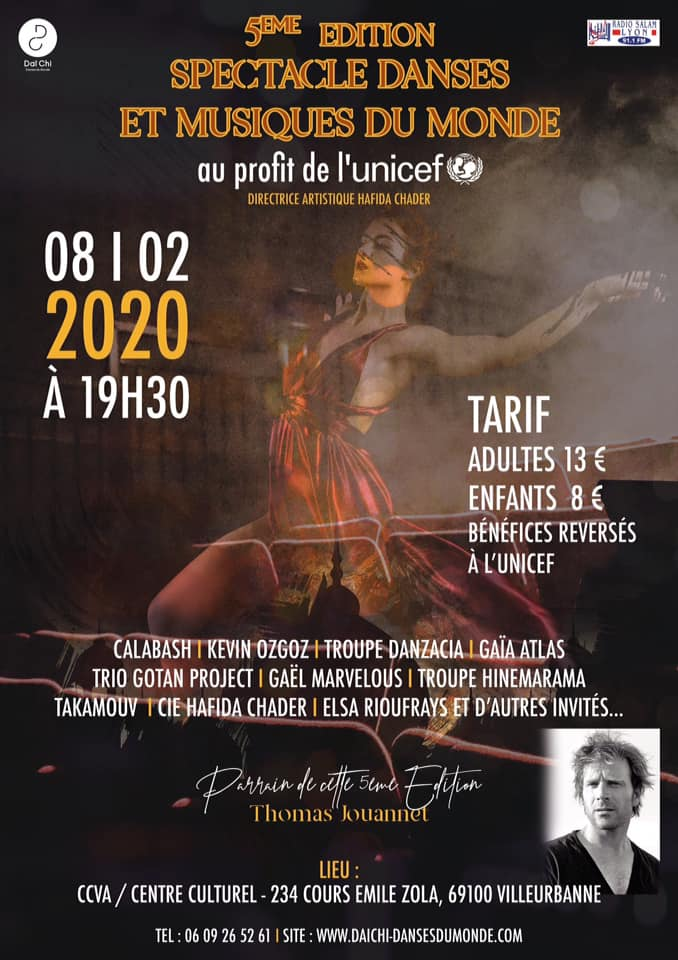 Show Takamouv pour Unicef